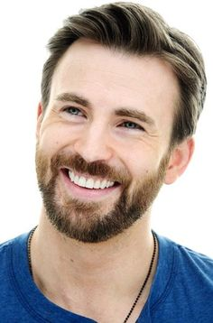 a big smile from Chris Evans