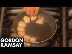 Gordon Ramsey how t cook scallops this is a two parter video