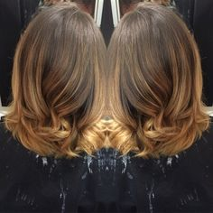Caramel balayage by Tricia. 905.732.4127, 172 West Main St. Welland ON, L3C 5A2