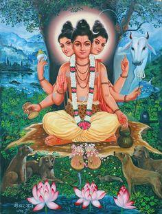 Chanting Of Shri Gurudev Datta Devotional Album Shiva Hindu, Shiva Shakti, Hindu Art, Krishna, Hanuman Ji Wallpapers, Shiva Yoga, Ganpati Bappa Wallpapers, Saints Of India, Swami Samarth