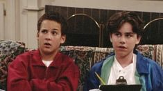 """Boy Meets World: The title points to one """"boy"""" in particular — the neurotic and lovable Cory Matthews — yet I think the spotlight ultimately belongs to his BFF. Some might argue that Cory was better than Shawn Hunter, but I disagree. Sure, Cory was… Boy Meets World Shawn, Girl Meets World, Cory And Shawn, Cory Matthews, Rider Strong, Types Of Boyfriends, Weird Facts, Crazy Facts, Tv Show Quotes"""