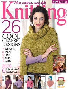 This will take you to the correct magazine on Internet Archives -- Pineapple Chart Simply Knitting, Free Knitting, Baby Knitting, Free Crochet, Knit Crochet, Knitting Books, Crochet Books, Knitting Projects, Knitting Magazine