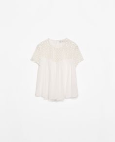 Image 6 of COMBINED TOP from Zara