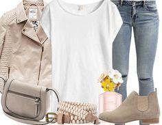 Beige+&+White