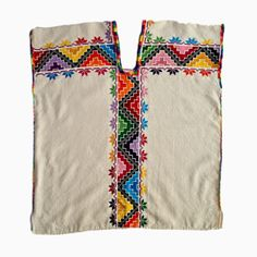 Embroidered Huipil Blouse | The Oaxaca Collection