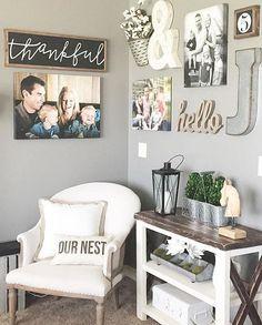 Marvelous Farmhouse Style Living Room Design Ideas 24