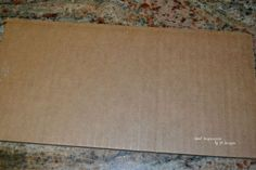 How I Made a FAKE Distressed Sign Out of a Flap From a Cardboard Box! Sweet Inspirations by jp designs