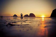 beachfront wedding in Oceanside, Oregon