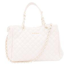 LE LIS BLANC - Bolsa Le Lis Blanc matelassê - off white
