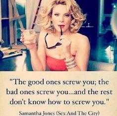 Samantha Jones quote