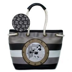 $198.00-$198.00 Harveys Disney Medium Rope Tote - Steamboat Willie - Classic seatbelt material is sewn horizontally giving this bag a lightweight design. Made in America of durable automotive seatbelt. http://www.amazon.com/dp/B0061Q1QY6/?tag=pin0ce-20