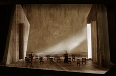The Scarlet Letter. Opera Colorado. Scenic design by Erhard Rom.