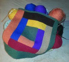 My basket of joy!  A work in progress.