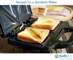 This is a guide about recipes for a sandwich maker. This useful kitchen appliance is known by many names including the sandwich toaster or pie iron. No matter what you call it, the sandwich maker is more versatile than you may know.