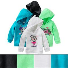 Jumping Beans Graphic Fleece Hoodie - Baby