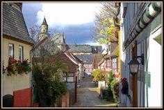 Gasse in Idstein