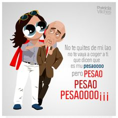 Si me pongo pesao me lo dices #lachirigotadelselu #coac2016 #carnaval #carnavaldecadiz #wacom #ilustracion #vectorial