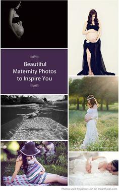 Beautiful Maternity Photos to Inspire You via iHeartFaces.com