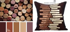 Refined & sophisticated palette in which all the colors work in harmony. Brings warmth & comfort.