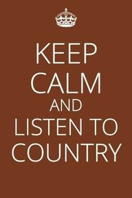 I'm from the country & I like it that way :-)