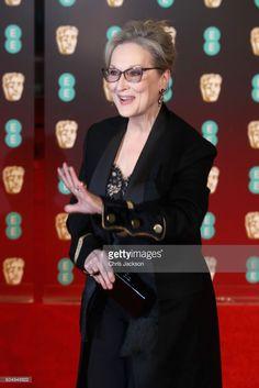 Meryl Streep attends the 70th EE British Academy Film Awards (BAFTA) at Royal Albert Hall on February 12, 2017 in London, England.