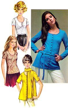 Colleen Corby (Simplicity Catalog - 1970) Seventies Fashion, 1960s Fashion, Vintage Fashion, Vintage Patterns, Sewing Patterns, Vintage Sewing, Colleen Corby, 1960s Outfits, Seventeen Magazine