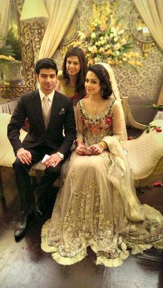 Bride wearing bridal lehenga and jewelry. #BridalHairstyle #BridalMakeup #BridalFashion #BridalPhotoShoot #GroomFashion