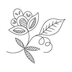 Free Printable Flower Embroidery Patterns Available In