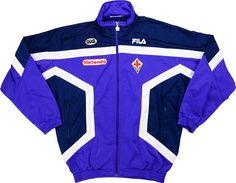 1997-98 Fiorentina Fila Track Jacket Y - Fiorentina - Serie A Clubs - Italian Clubs - European Clubs - Classic Football Shirts