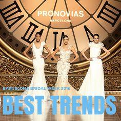 Best Trends from Barcelona Bridal Week 2016