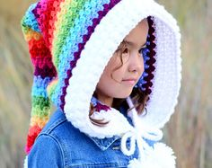Buy more patterns and S-A-V-E @ http://www.thehatandi.etsy.com Use one of the following coupon codes at checkout: Orders over $15 ~ Enter coupon code SAVE10 and get 10% off your order. Orders over $25 ~ Enter coupon code SAVE15 and get 15% off your order. Orders over $50 ~ Enter coupon code SAVE20 and get 20% off your order.  *********** This listing is for a CROCHET PATTERN in PDF format. ***********  A boho inspired hoodie with extra long tail for the free-spirited, fairy types.  ...