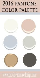 paint colors that go well with Pantones 2016 color of the year