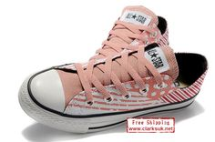 CONVERSE Chuck Taylor All Star Low Sneakers Color Block Pink
