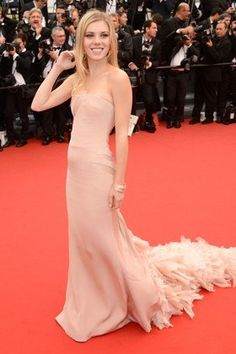 Claire Julien in custom Emilio Pucci. Click to shop her look.