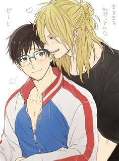 My YURIO!WHAT HAPPENED TO YOUR HAIR!?