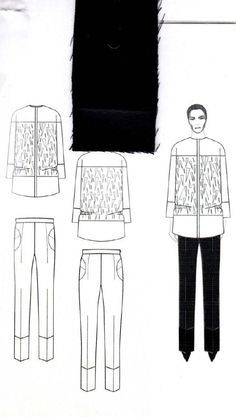 Fashion Sketchbook - fashion design drawings; graduate fashion portfolio // Rachel Raheja