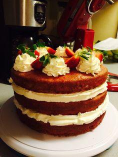 Strawberry Cream Cake #Mikkisjar