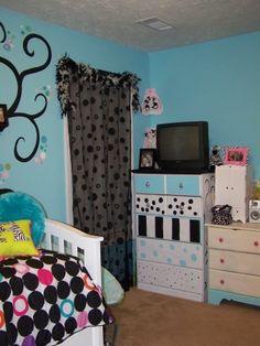 Girlie Blue Room