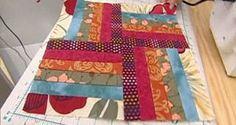 Quilt o colcha de patchwork - Bloque 1