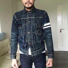 Momotaro denim jacket...  #jeans #indigo #menswear #mode #style