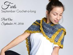 Join Furls Crochet and Cre8tion Crochet with the Furls Crochet September CAL. Find out what we named our design and get the instructions for Part One of this beautiful Asymmetric Shawl.