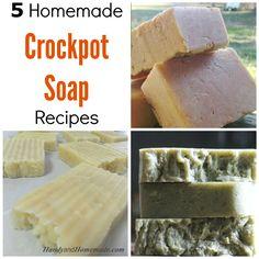 5-DIY-Homemade-Crockpot-Soap-Recipes.jpg 1,000×1,000 pixels