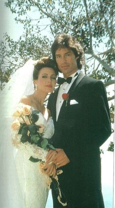 Ridge & Taylor - The Bold and the Beautiful - First Wedding 1992