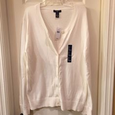 GAP NWT lightweight cardigan size S, M, and L NWT button front cardigan is made of a lightweight cotton giving you just enough warmth on cook days Retail tags attached no flaws GAP Sweaters Cardigans