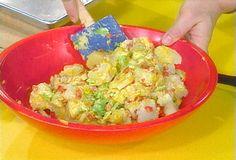 Yellow Mustard Potato Salad recipe from Rachael Ray via Food Network