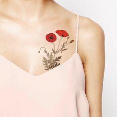 Znalezione obrazy dla zapytania poppy Tattoo