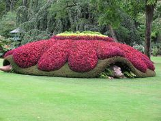 Captivating Giant Animal Topiary In France, Art by Claude Ponti. | Cut Paste Studio| Art Artist Artwork Sculpture Entertainment Creativity Animal Nature Beautiful Topiary France