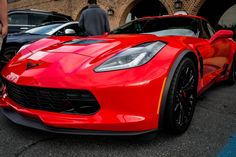 Beautiful Z06 at a Cars & Coffee [OC] #Corvette #Stingray #auction #Chevrolet #Convertible #cars #classiccars #Chevy