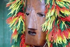 Careto de Podence Mask: Winter festival of boys