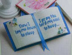 ROSARY/TRINKET BOXES Prayer Book Plastic Canvas by M2Hawk